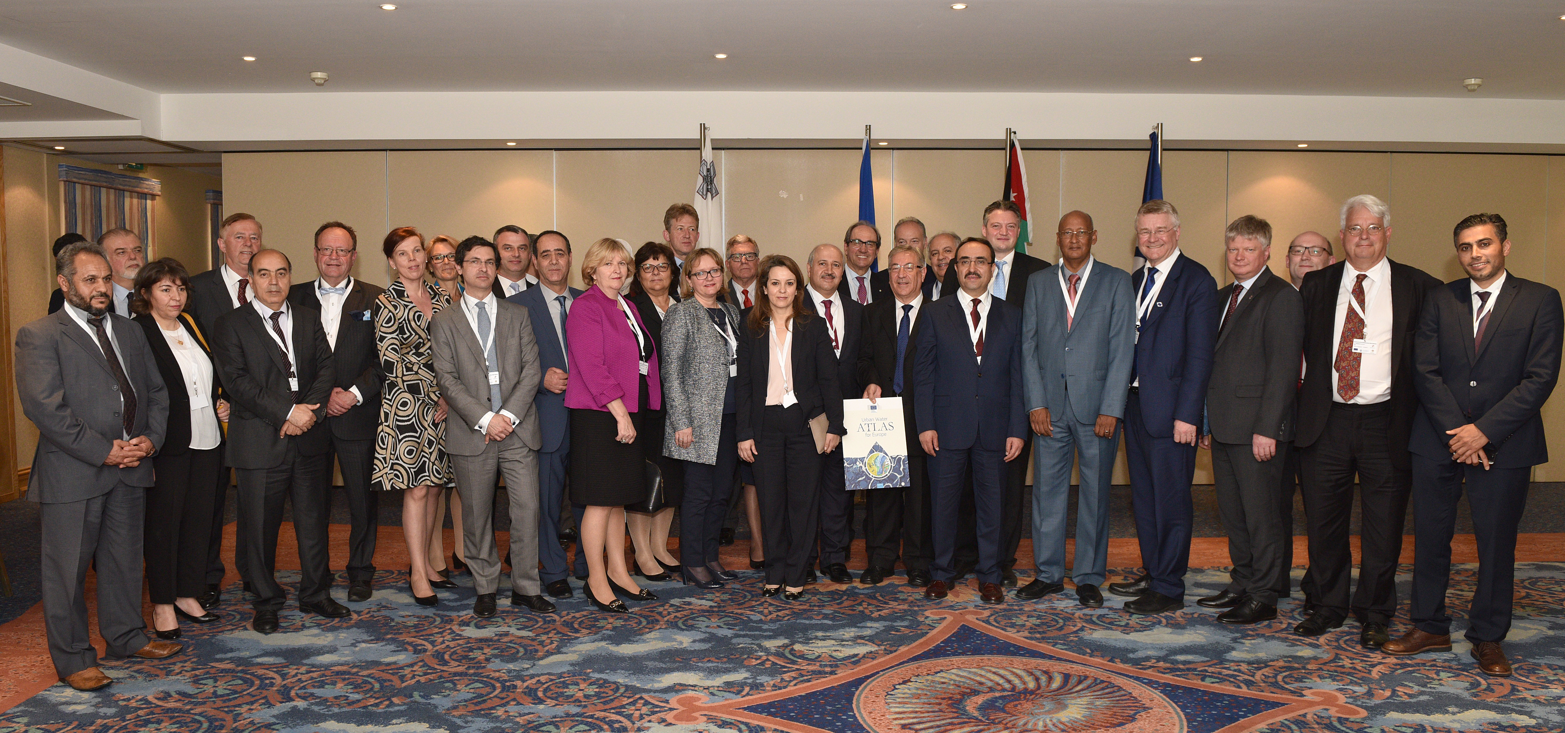 27 April 2017, Valetta, Malta – Ministerial Meeting of the European Union and Mediterranean Water Ministries