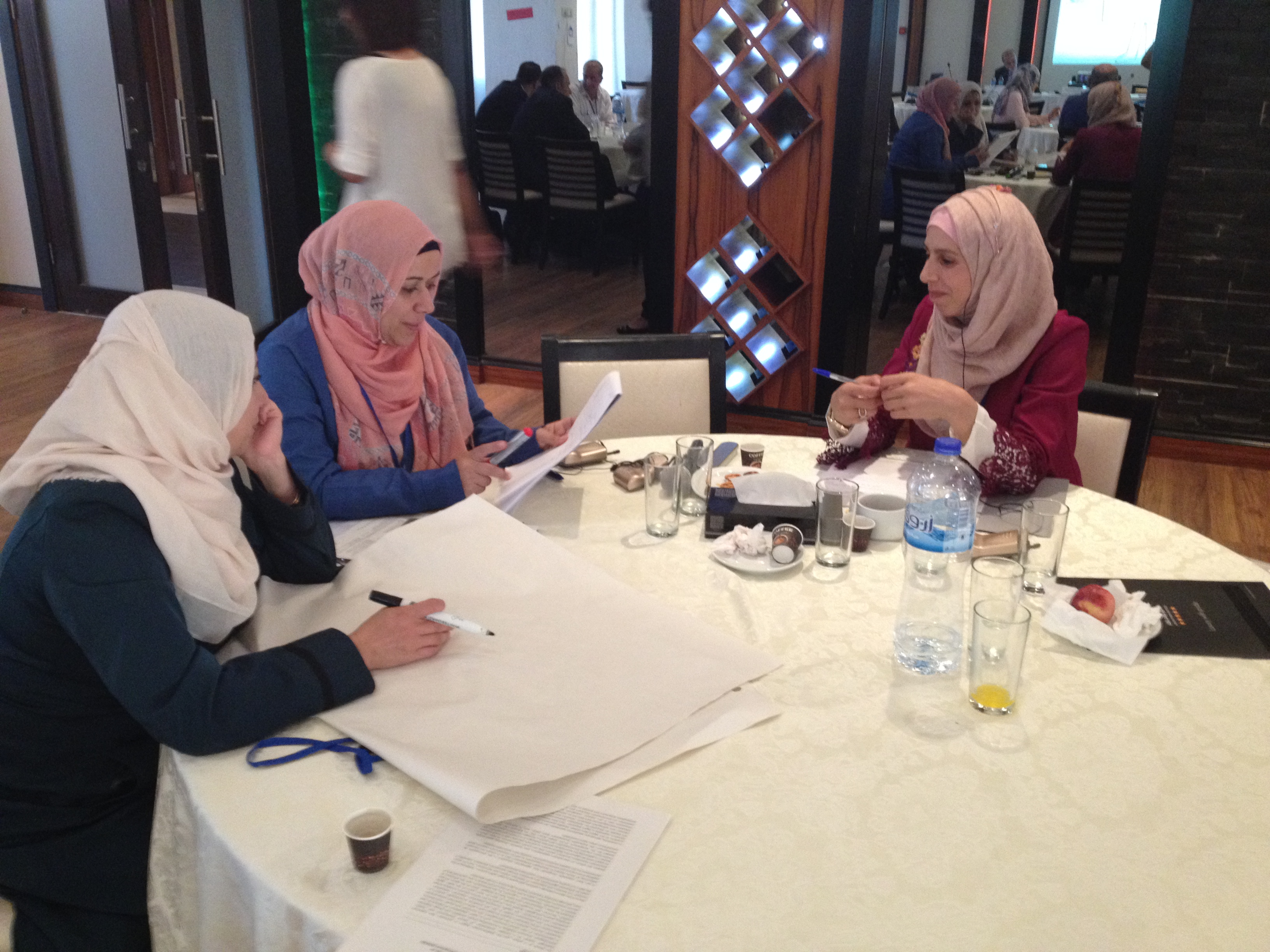 17-18 September 2017, Ramallah, Palestine- SWIM-H2020 SM Training on Education for Sustainable Development (ESD)