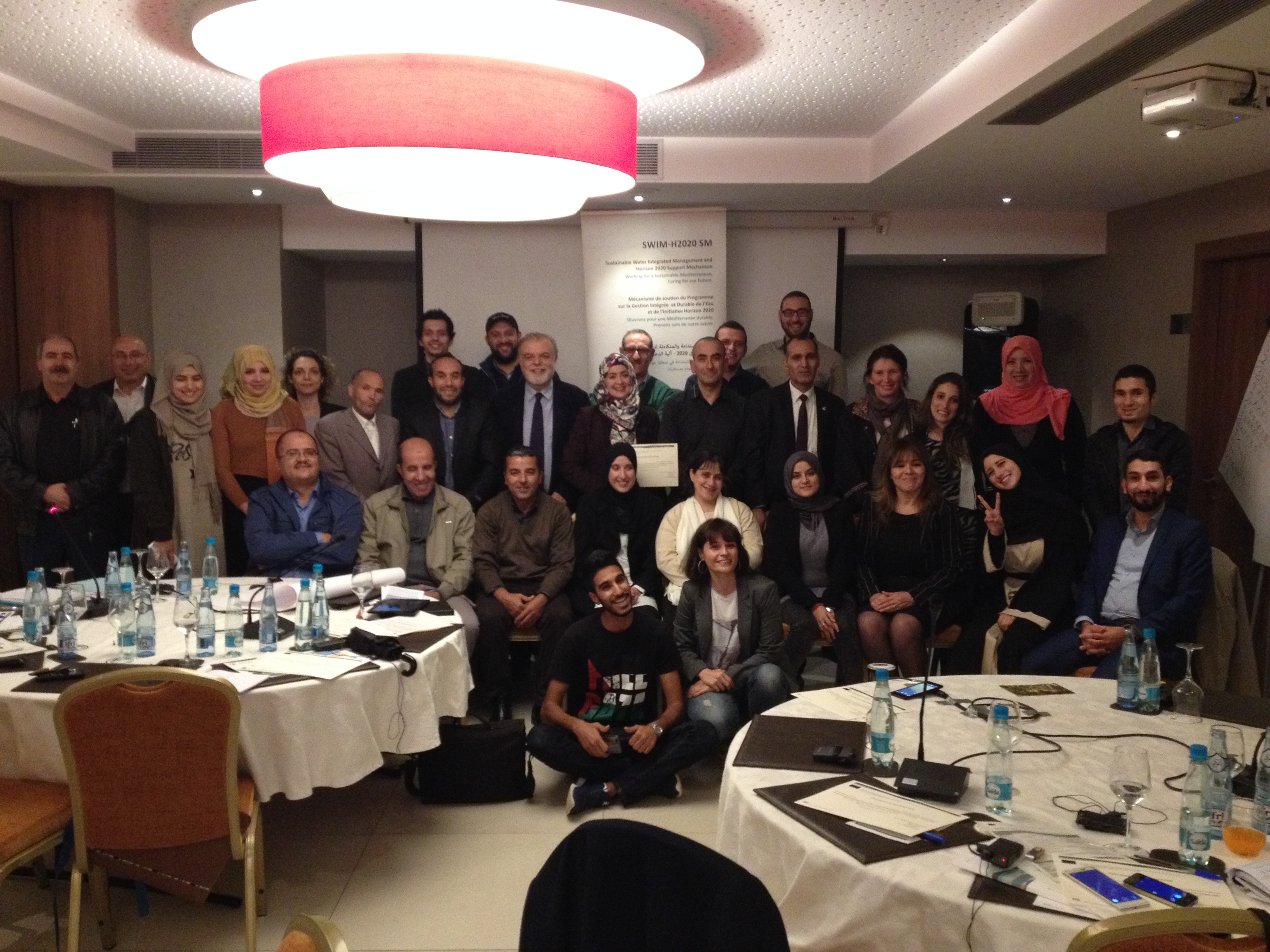 12-13 November 2017, Algiers, Algeria – SWIM-H2020 SM Training on Awareness and Education of Non-Conventional Water Resources