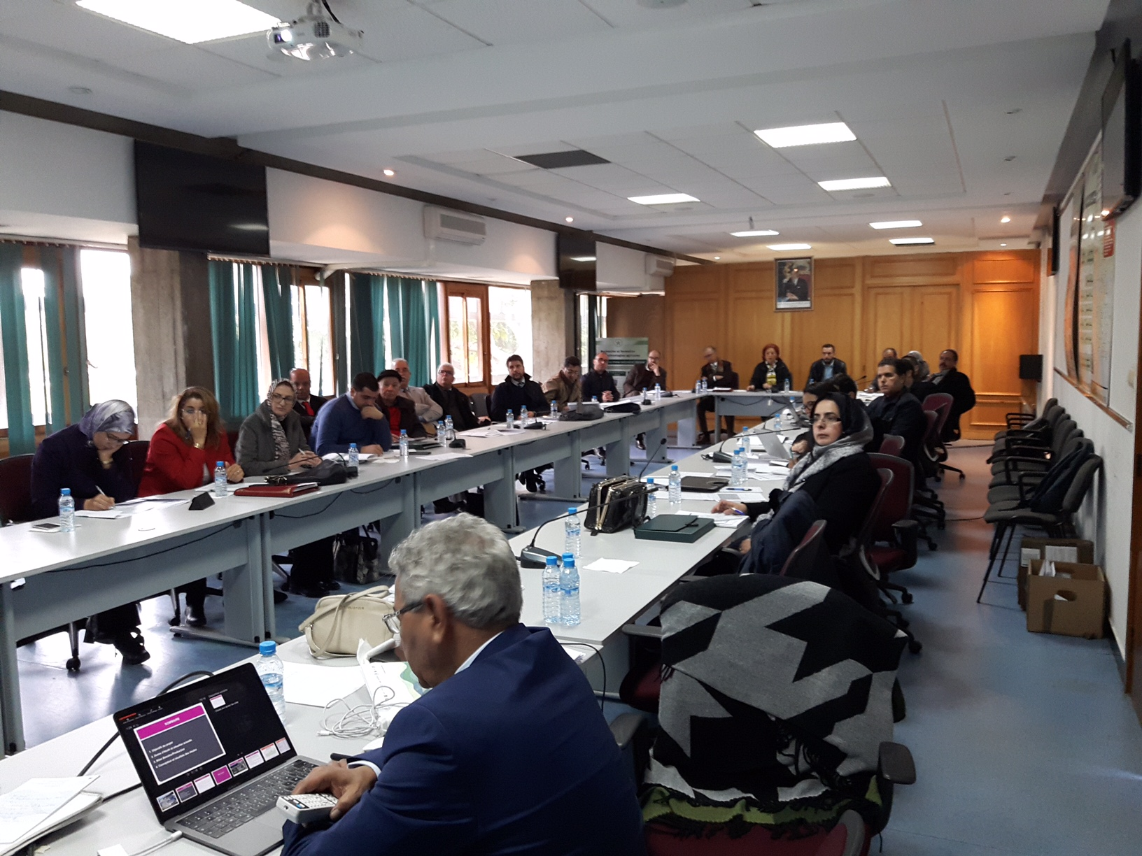 23 January 2018, Rabat, Morocco – SWIM-H2020 SM Consultation on the reuse of wastewater by strengthening the institutional, regulatory and financial frameworks