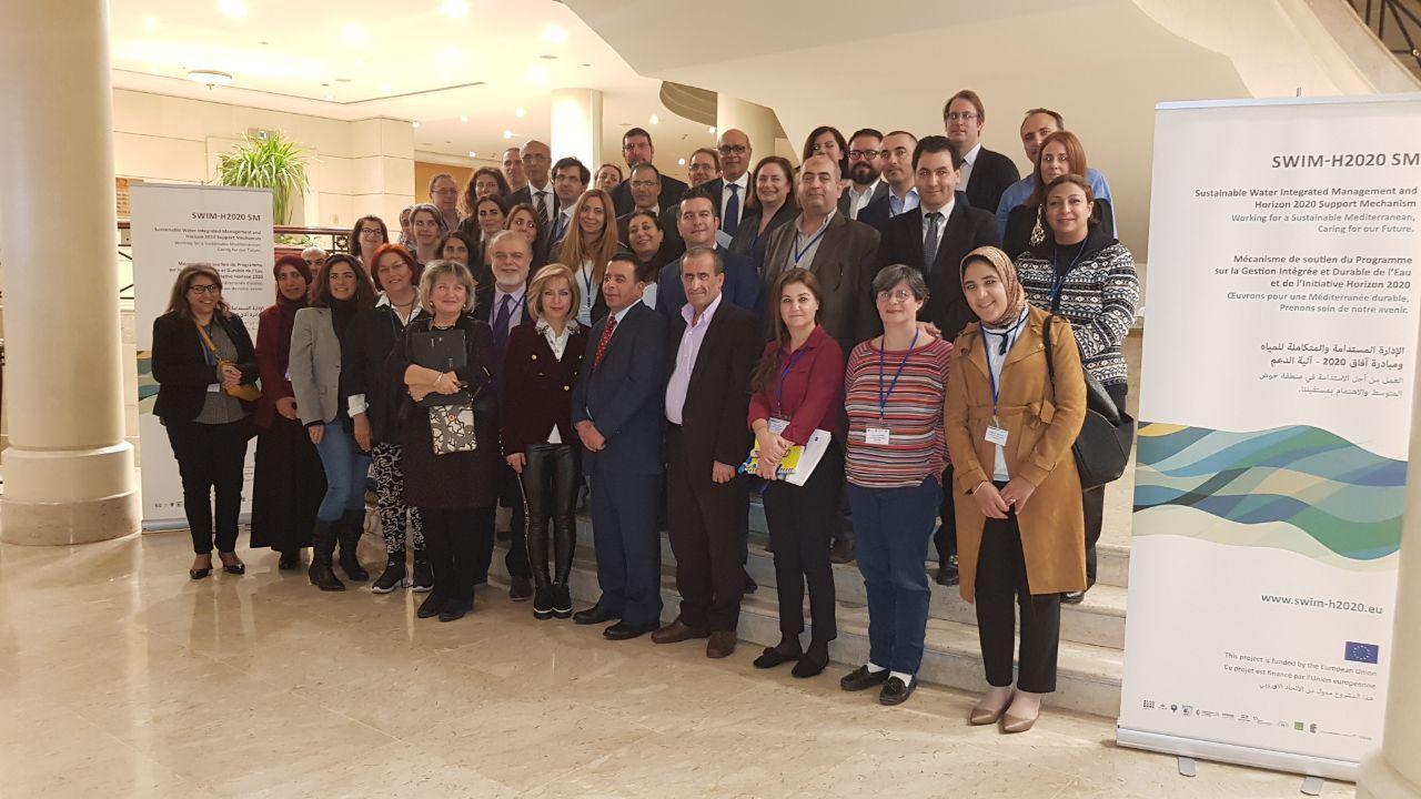 31 يناير 2018، البحر الميت، الأردن – الاجتماع الثاني للجنة التوجيهية لمشروع آلية دعم الإدارة المستدامة والمتكاملة  للمياه ومبادرة آفاق 2020