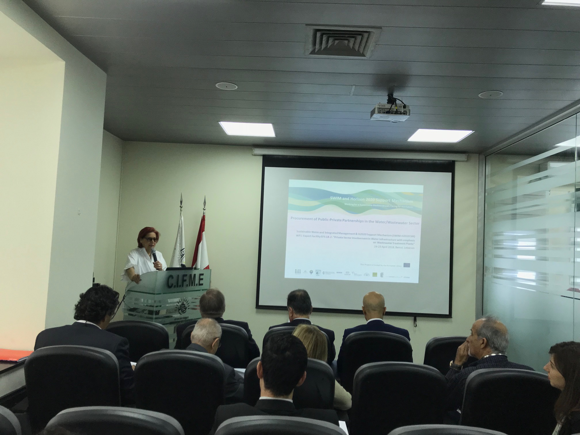 24-26 April 2018, Beirut, Lebanon – SWIM-H2020 SM Training on Procurement of Public-Private Partnerships in the Water/Wastewater Sector