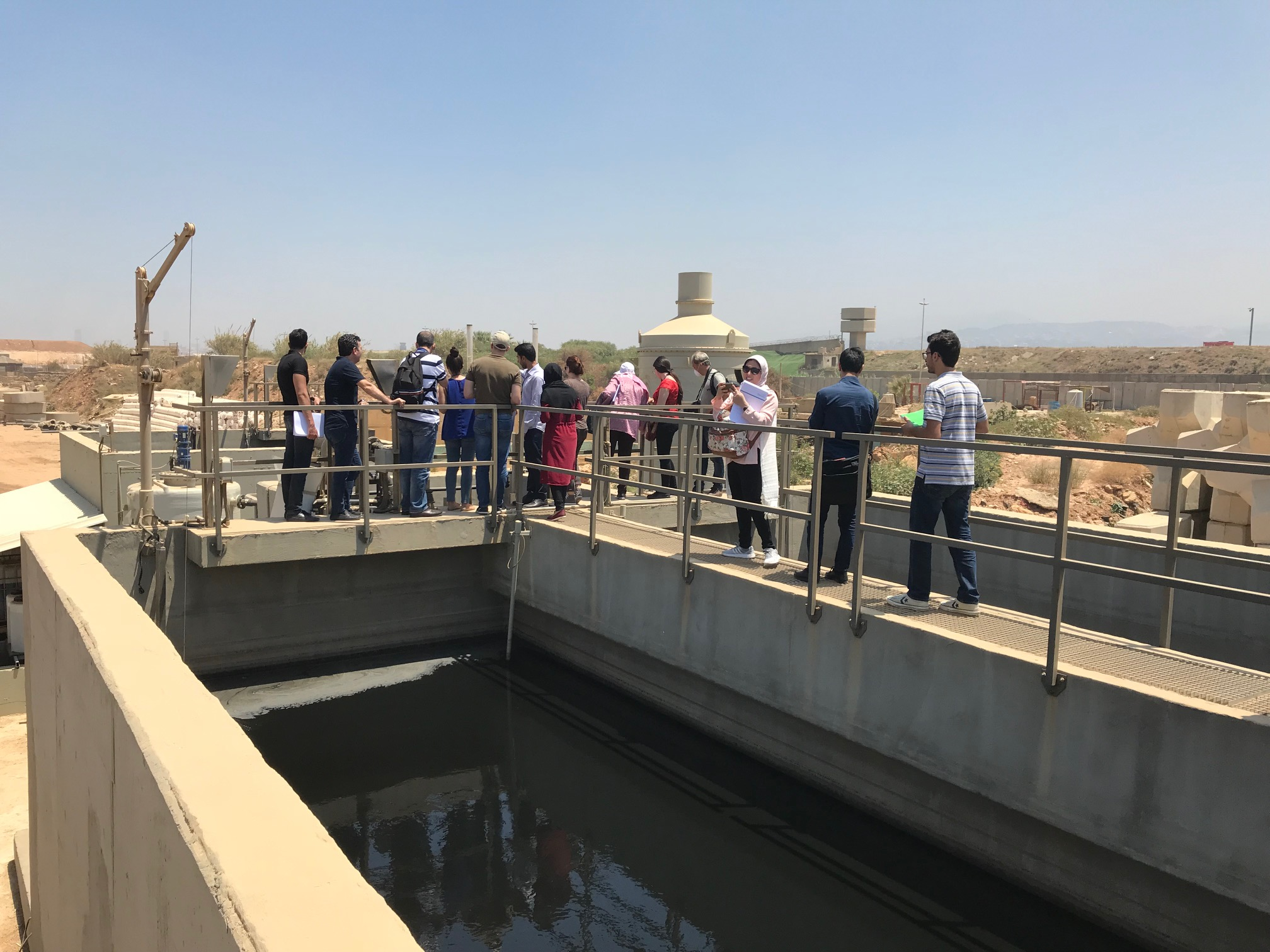 25-29 June 2018, Beirut, Lebanon – SWIM-H2020 SM Study Tour on Leachate Management