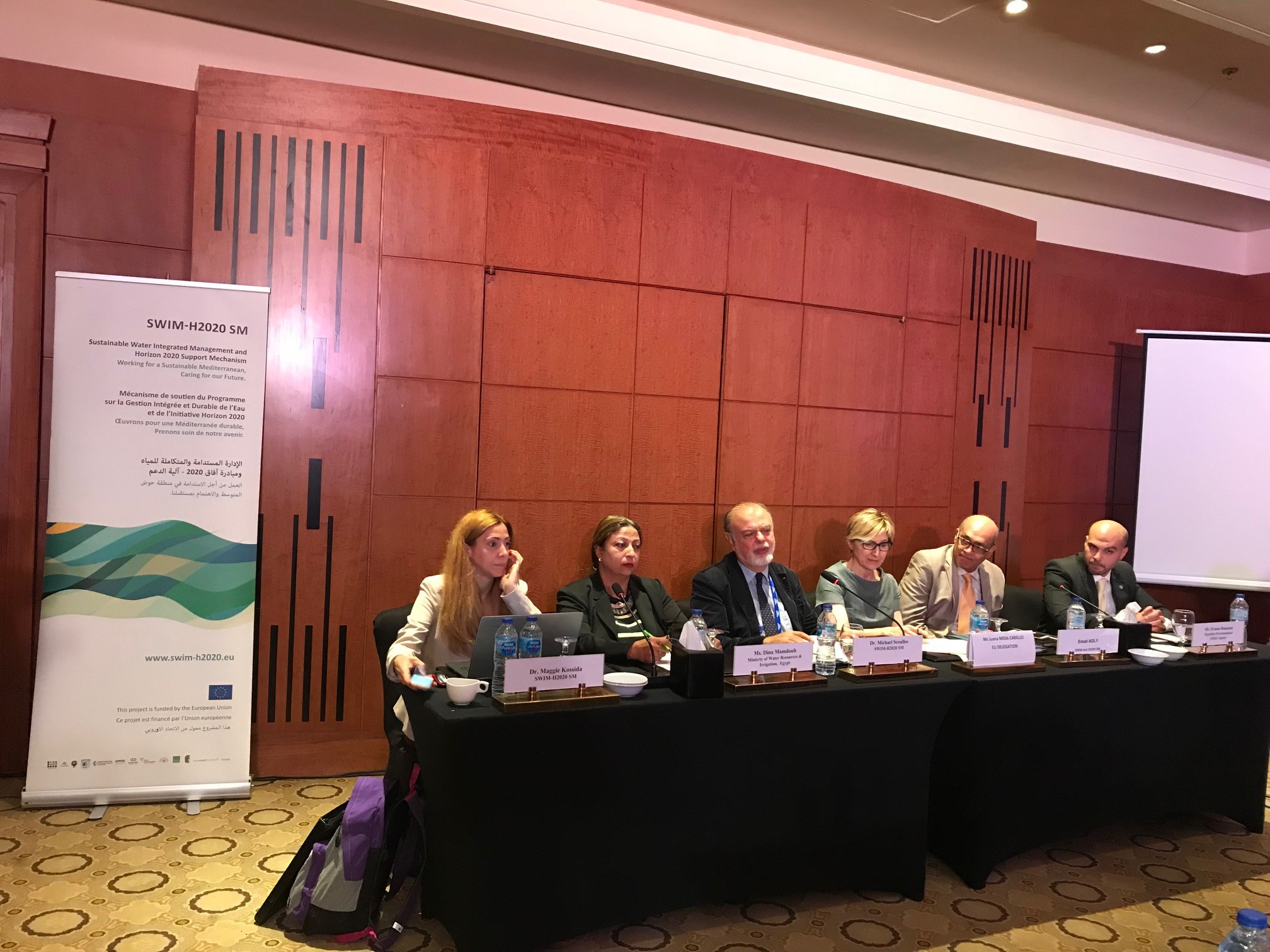 16 October 2018, Cairo, Egypt – SWIM-H2020 SM Side Event Cairo Water Week: National Meeting in Egypt