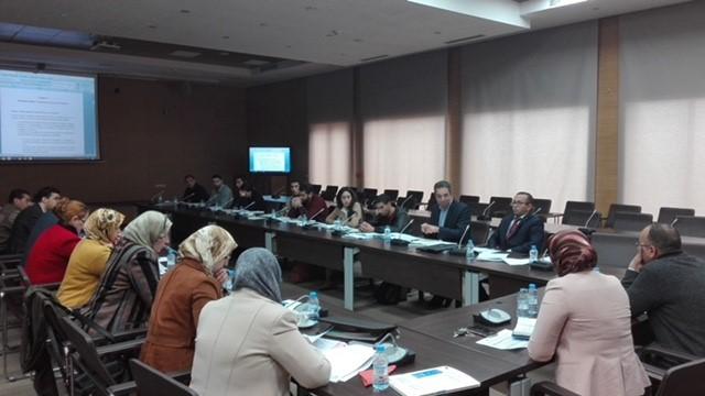 6 ديسمبر 2018، الرباط، المغرب – حلقة نقاش تشاورية لمشروع آلية دعم الإدارة المستدامة والمتكاملة للمياه ومبادرة آفاق 2020 حول ترسيم المناطق الواقية لمناطق الوقاية والحظر (المياه الجوفية والمياه السطحية)