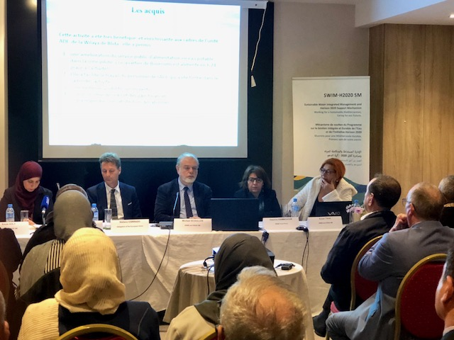 12 ديسمبر 2018، العاصمة الجزائرية ، الجزائر – اجتماع على المستوى الوطني في الجزائر لفريق مشروع آلية دعم الإدارة المستدامة والمتكاملة للمياه ومبادرة آفاق 2020