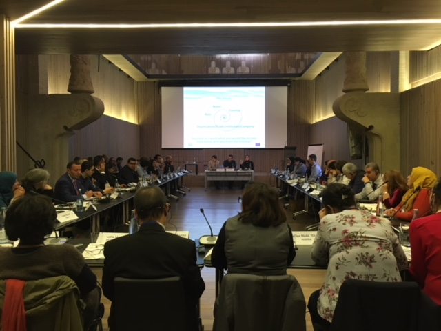 10-14 December 2018, Barcelona Spain – SWIM-H2020 SM Regional Training & Study Visit on Green Economy