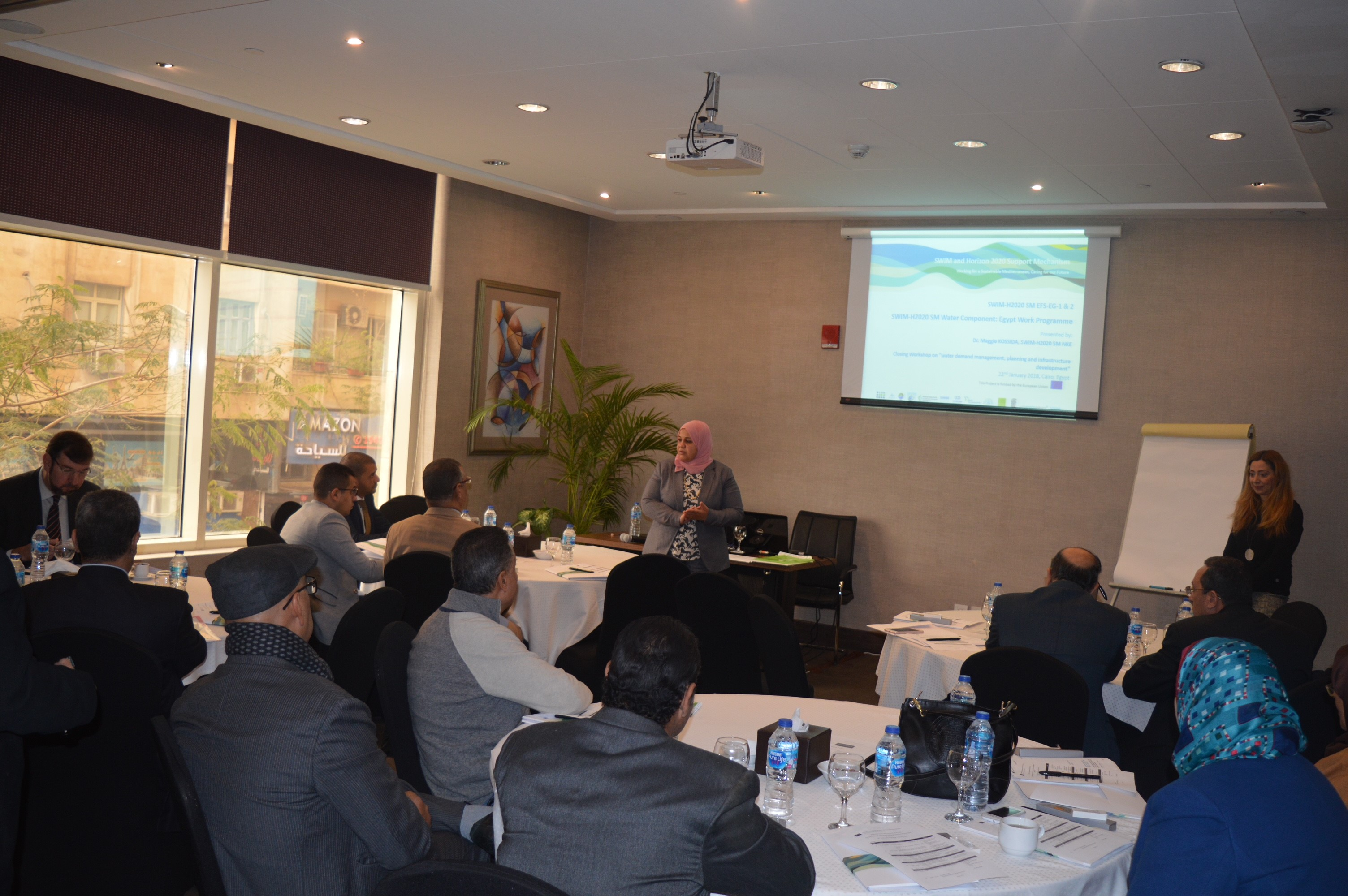 22 January 2019, Cairo, Egypt – SWIM-H2020 SM Workshop on water demand management, planning and infrastructure development