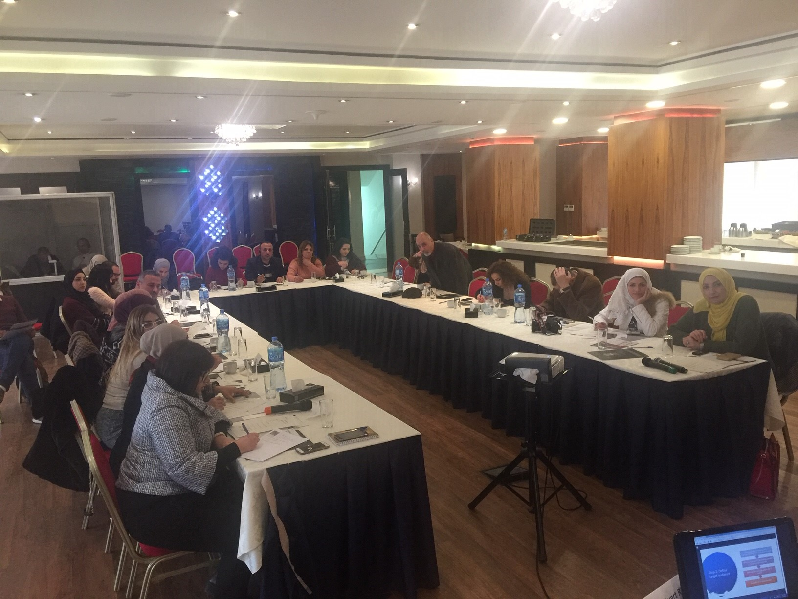 "4 March 2019, Ramallah, Palestine SWIM-H2020 SM Training ""Enhancing Environmental Communication skills for Media and other relevant professionals"""