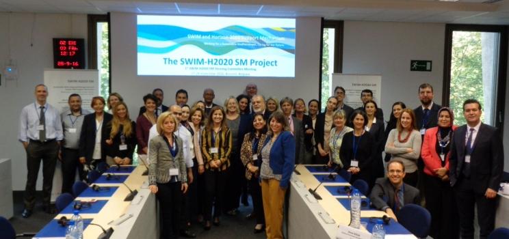 27-28 Sept. 2016, Brussels, Belgium – 1st Steering Committee Meeting SWIM-H2020 SM