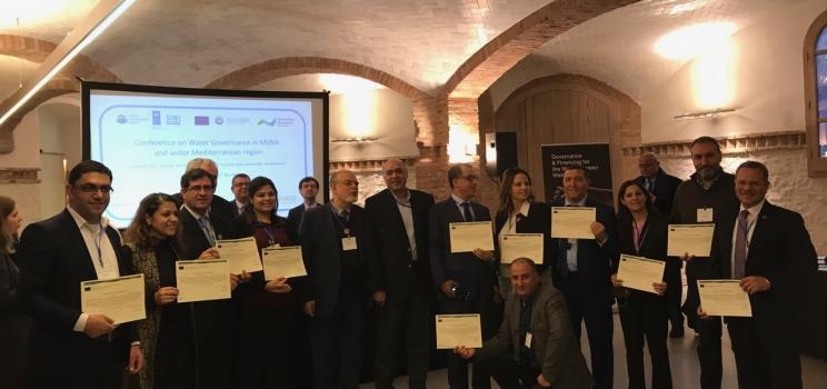 """14-12 ديسمبر 2017، برشلونة، إسبانيا – مؤتمر ودورة تدريبية حول """"إدارة شؤون المياه في بلدان الشرق الأوسط وشمال أفريقيا""""."""