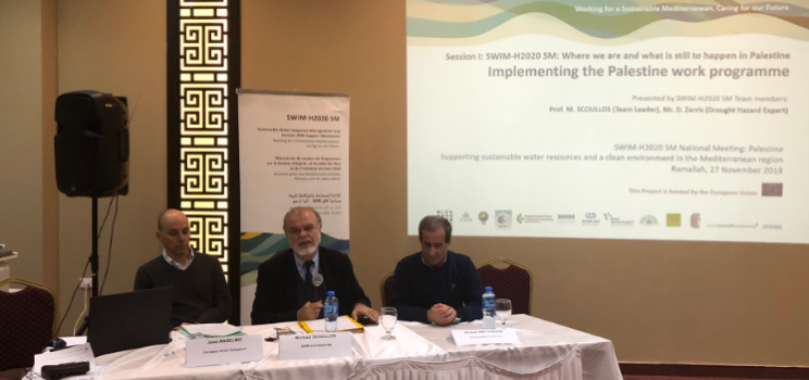 27 November 2018, Ramallah, Palestine – SWIM-H2020 SM National Meeting in Palestine