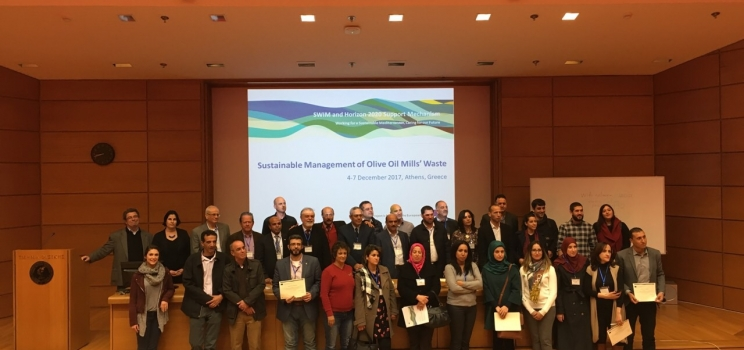 4-7 December 2017, Athens, Greece – SWIM-H2020 SM Regional Training on the Sustainable Management of Olive Oil Mills' Waste