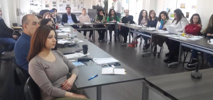 4-5 فبراير 2019، بيروت، لبنان – لبنان – ورشة عمل تدريبية لمشروع آلية دعم الإدارة المستدامة والمتكاملة للمياه ومبادرة آفاق 2020 بشأن تكلفة التدهور البيئي