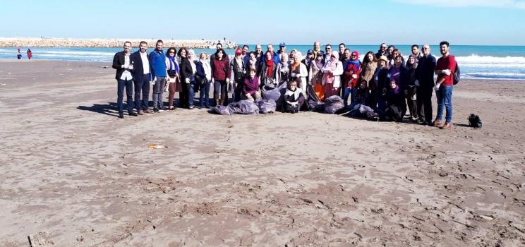 7-8 novembre 2017, Alger, Algérie – SWIM-H2020 SM Atelier de Formation sur l'Évaluation des déchets marins dans la côte algérienne