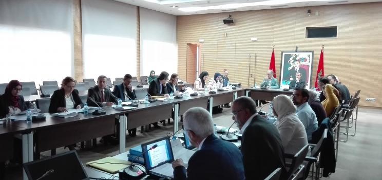22 octobre 2018, Rabat, Maroc – SWIM-H2020 SM Atelier de Consultation concernant le Projet de décret relatif au dessalement