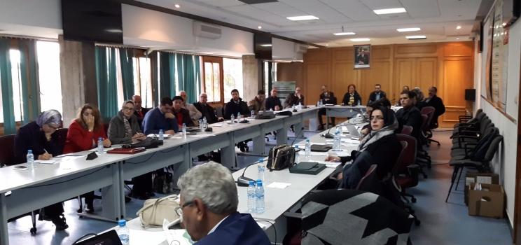 23 يناير 2018، الرباط، المغرب – جلسة تشاورية لمشروع آلية دعم الإدارة المستدامة والمتكاملة للمياه ومبادرة آفاق 2020 حول إعادة استخدام مياه الصرف الصحي من خلال تعزيز الأطر المؤسسية والتنظيمية والمالية.
