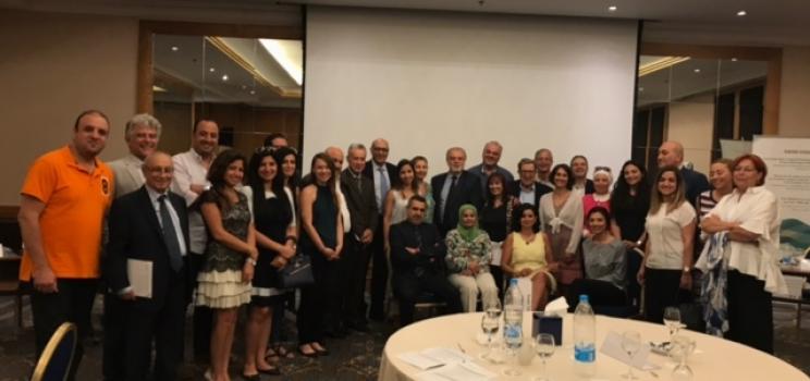 5 يوليو 2018، بيروت، لبنان – اجتماع لبنان الوطني الخاص بمشروع الإدارة المستدامة والمتكاملة للمياه وآلية دعم مبادرة آفاق 2020