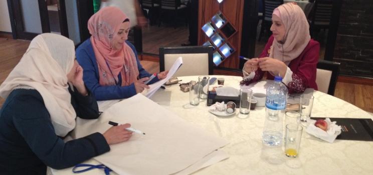 17-18 septembre 2017, Ramallah, Palestine – SWIM-H2020 SM Atelier de Formation à l'Éducation en vue du Développement Durable (EDD)