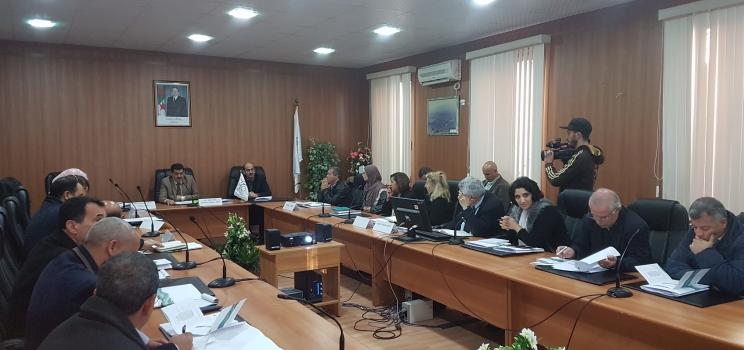 7 ديسمبر 2017، الجزائر العاصمة، الجزائر – تدريب إقليمي لمشروع آلية دعم الإدارة المستدامة والمتكاملة للمياه ومشروع آفاق 2020 حول دعم إعادة استخدام مياه الصرف المعالجة في الزراعة من خلال التوعية ورفع مستوى الوعي