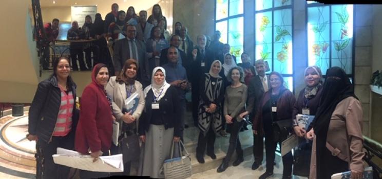 """""""2-6 ديسمبر 2018، القاهرة، مصر – جلسات تدريب وتشاور لمشروع آلية دعم الإدارة المستدامة والمتكاملة للمياه ومبادرة آفاق 2020 حول """"""""تمكين المربين في مصر للتطبيق العملي للتعليم من أجل التنمية المستدامة"""""""" """""""