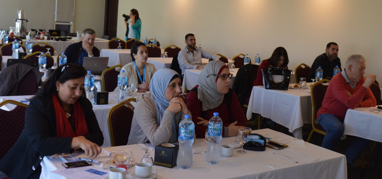 "7-8 November 2018, Ramallah, Palestine – SWIM-H2020 SM Consultation Workshop ""Capacity building on Drought Risk Management Mainstreaming (DRMM)"""