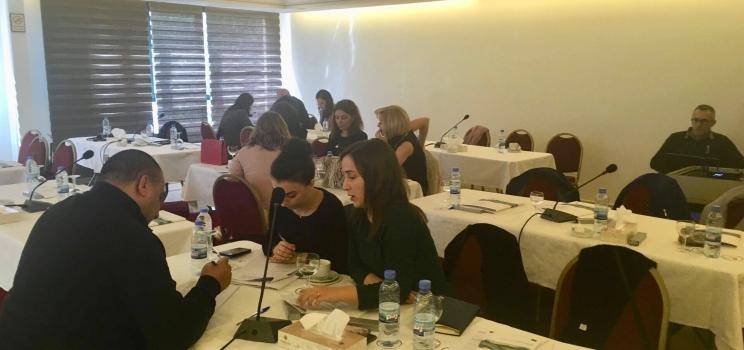 14 mars 2019, Beyrouth, Liban – SWIM-H2020 SM Atelier de consultation sur la définition d'objectifs politiques et d'un programme de mesures dans le bassin de la rivière Nahr Elkelb