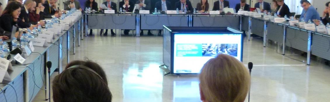 14-15 mars 2017, Barcelona, Espagne – Union pour la Méditerranée (UpM) Première réunion du Groupe de travail sur l'environnement et le changement climatique